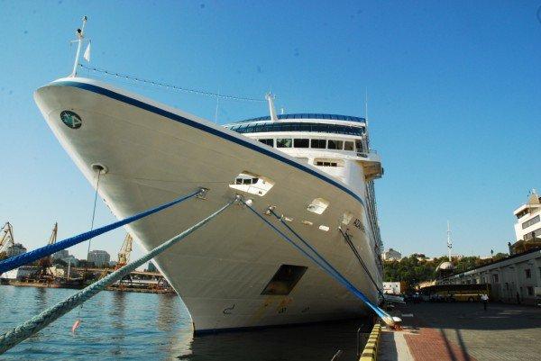 В Одесский порт сегодня зашел круизный лайнер (фото), фото-1