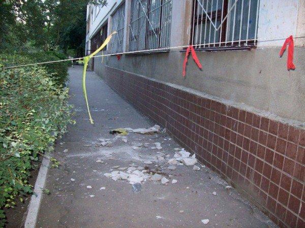 В канун 1 сентября в Одессе стала валиться школа! (фото), фото-1