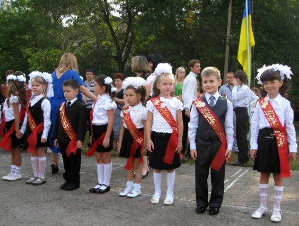 Двум школам в Горловке исполнилось по 50 лет, фото-1