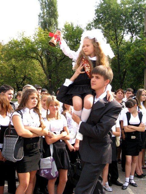 Двум школам в Горловке исполнилось по 50 лет, фото-7