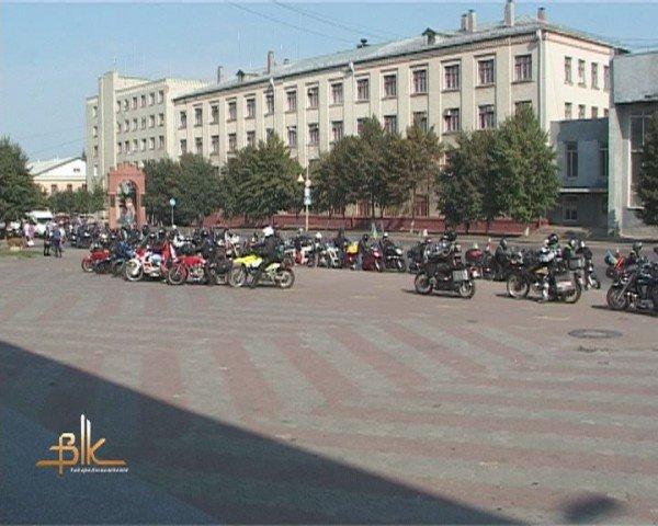 Мотопробіг польських байкерів знову пройшов через Бердичів, фото-1