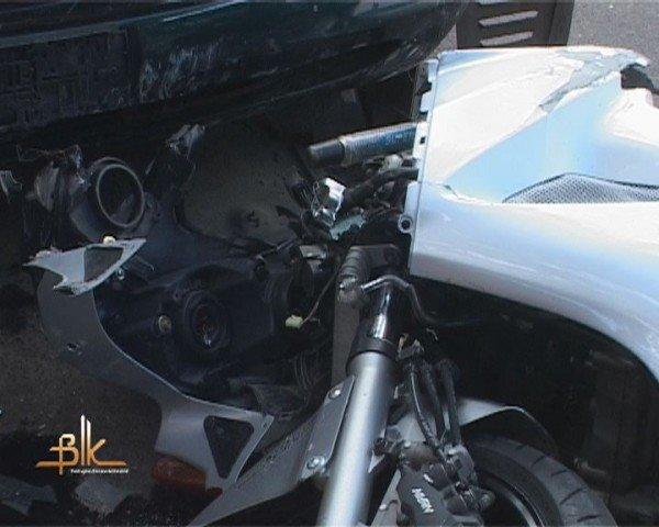 """ДТП в Бердичеві,  мотоцикл зіткнувся з """"копійкою"""", фото-2"""