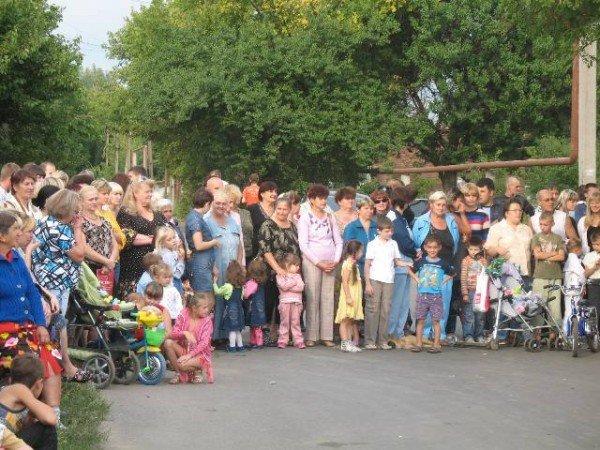 В Горловке 80-летний юбилей отпраздновал поселок Воробьевка, фото-1