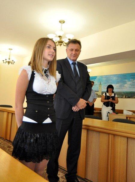 Мэр Симферополя поздравил самых умных школьников города (фото), фото-4