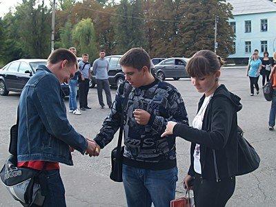 В Луганске провели акцию «Желтая карточка украинской милиции: второе предупреждение» (фото), фото-3