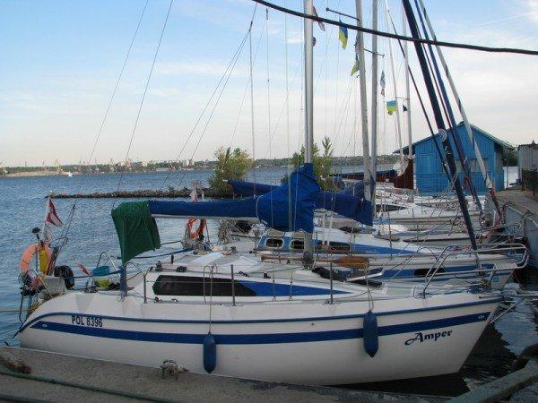 Польские яхтсмены были неприятно удивлены ценами на запорожскую шлюзовку (ФОТО), фото-4