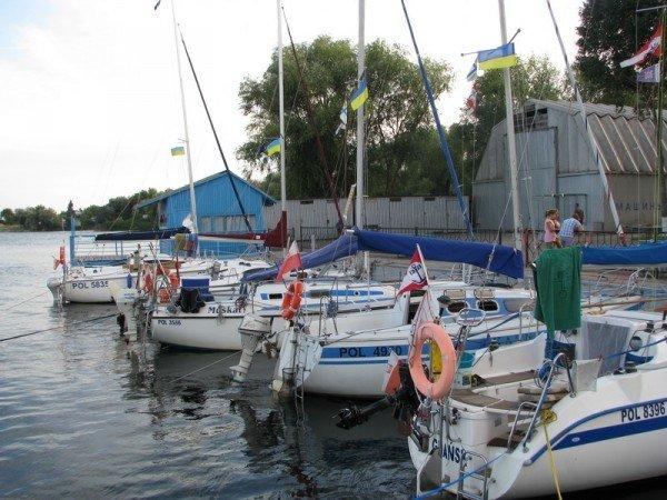 Польские яхтсмены были неприятно удивлены ценами на запорожскую шлюзовку (ФОТО), фото-5