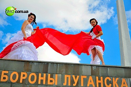 В День города состоялся первый в Луганске «Парад невест» (фото), фото-9