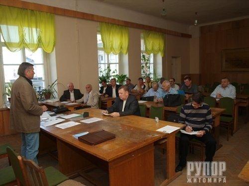 У Житомирі засідав виконавчий комітет обласної федерації футболу (ФОТО), фото-1