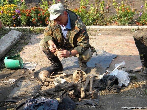На Луганщине нашли останки немецких солдат (ФОТО), фото-1