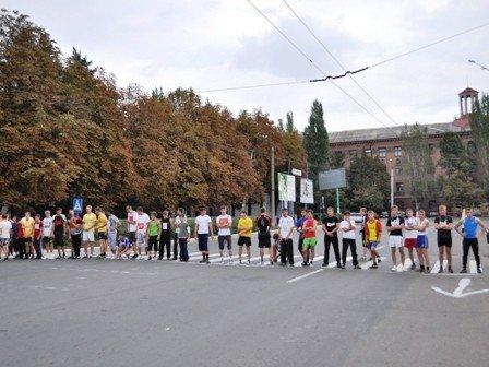 В Горловке быстрее всех бегают учащиеся школ №36 и 85, фото-1