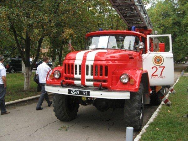 Горловские спасатели принимали присягу и демонстрировали свою технику (фото), фото-11