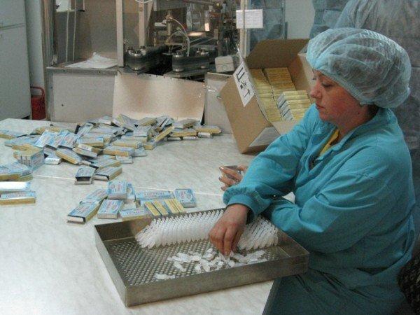 Горловским журналистам рассказали, как производят  таблетки и показали подопытных кроликов и мышей, фото-5