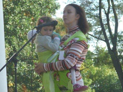 На вихідних в Житомир на родинне свято прилітав лелека з дарунками (ФОТО), фото-7