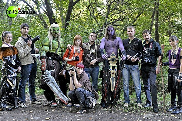 Воины «World of Warcraft» сражались в луганском парке (ФОТО), фото-12