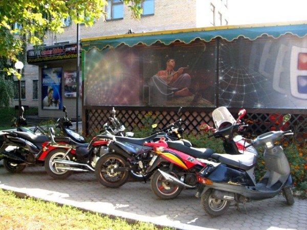 В Горловке почтили память байкерши «Никиты», сбитой сыном чиновника на «Бентли», и других мотоциклистов  (фото+видео)), фото-11
