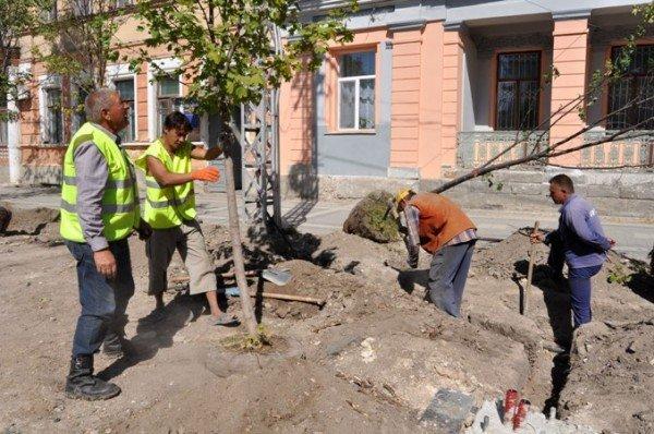 Ремонт на улице Горького в Симферополе обещают закончить 31 октября (фото), фото-3