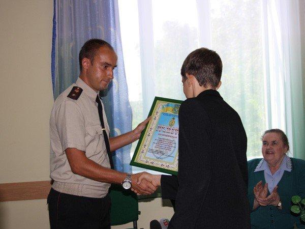 Запорожские спасатели наградили восьмиклассника (ФОТО), фото-1