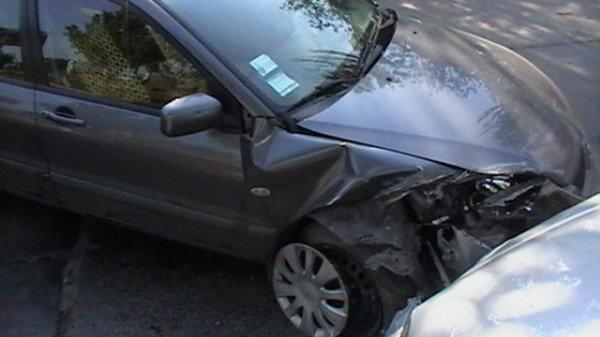 Хонда столкнулась с Митсубиси, фото-3