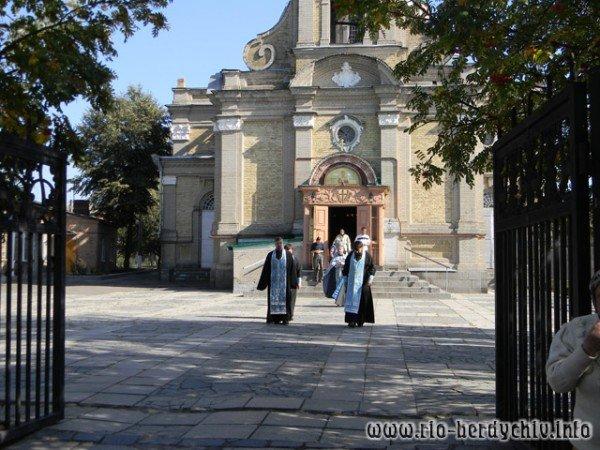 В Бердичів прибула ікона Божої Матері «Страсна». Фото, фото-1
