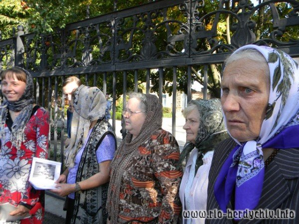 В Бердичів прибула ікона Божої Матері «Страсна». Фото, фото-4