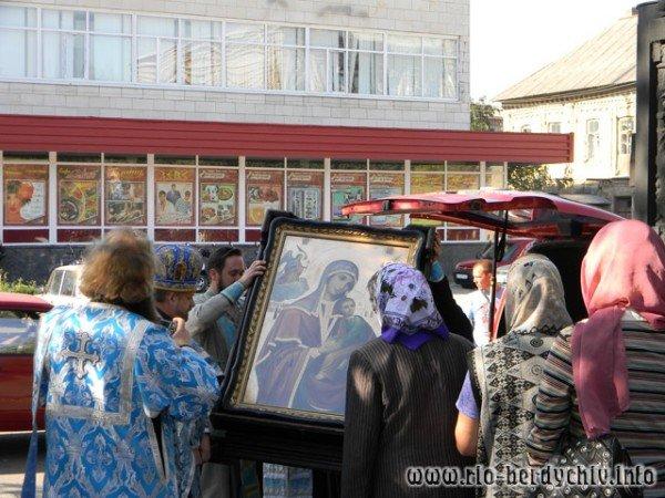В Бердичів прибула ікона Божої Матері «Страсна». Фото, фото-5