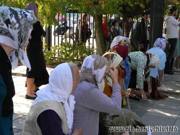 В Бердичів прибула ікона Божої Матері «Страсна». Фото, фото-6