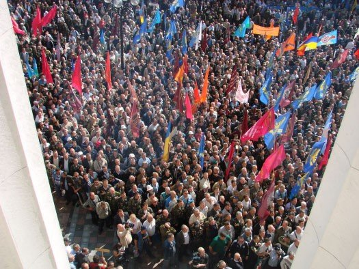 «Афганцы» из Горловки «нагнали» страха на обитателей Верховной Рады, фото-6