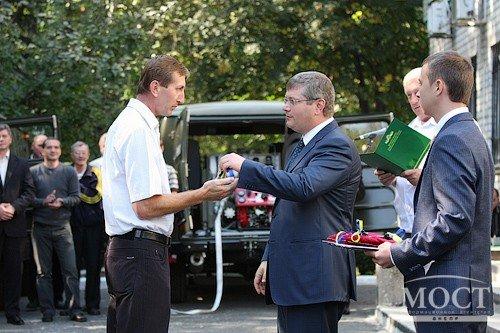 Лесные хозяйства области получили 7 современных пожарных автомобилей, фото-6