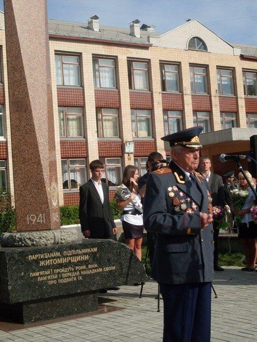 Сьогодні у Житомирі вшановали ветеранів-підпільників Великої Вітчизняної війни (ФОТО), фото-1