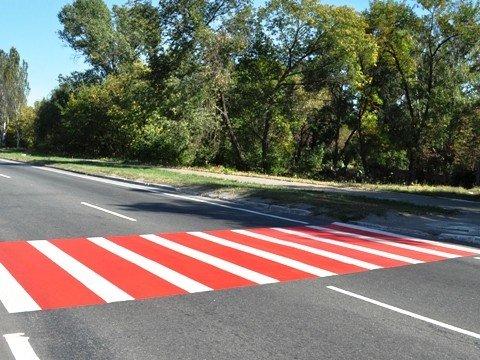 В Горловке появились красно-белые «зебры». Все по ГОСТу, фото-3