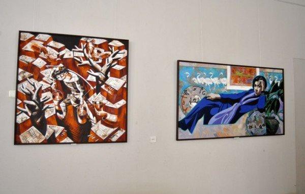 В Симферополь привезли картины народного художника Узбекистана (фото), фото-2