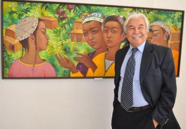 В Симферополь привезли картины народного художника Узбекистана (фото), фото-5