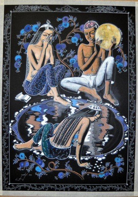 В Симферополь привезли картины народного художника Узбекистана (фото), фото-4
