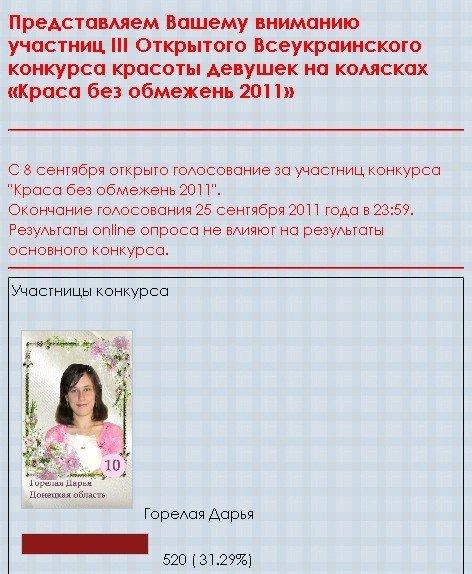 Горловчанка стала мисс-Интернет Всеукраинского конкурса красоты, фото-1