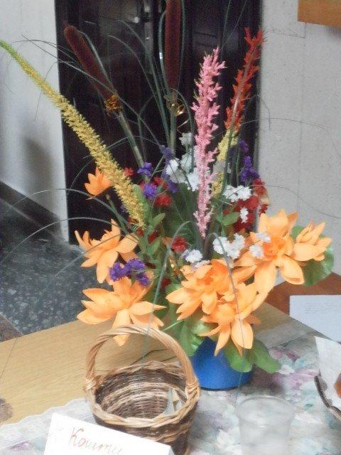 Виставку квітів та благодійний ярмарок до Дня вчителя, фото-6