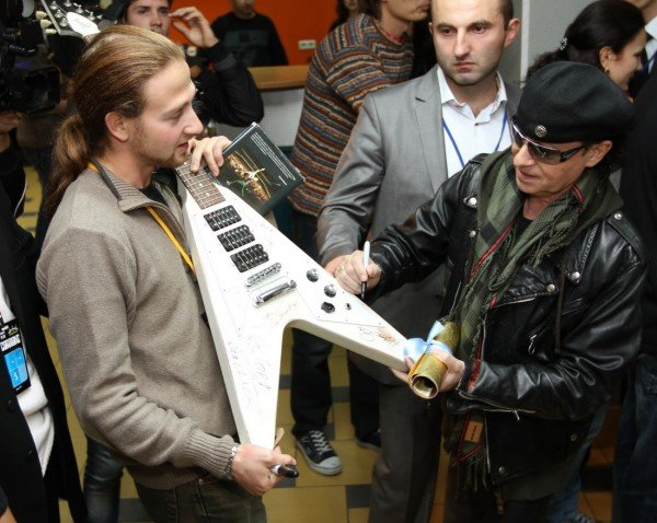 Прощальная гастроль «Scorpions» в Донецке (фото), фото-3