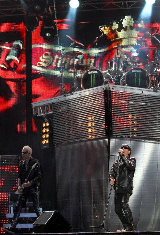 Прощальная гастроль «Scorpions» в Донецке (фото), фото-8