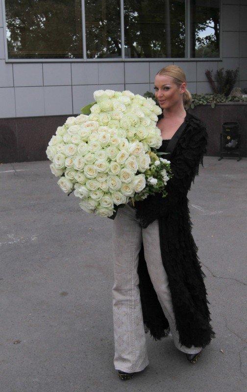 Анастасия Волочкова въехала в Донецк на БТРе (фото, видео), фото-2