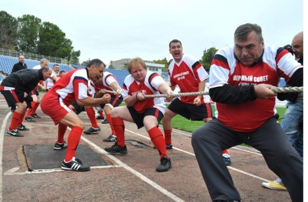 Крымские чиновники стали спортсменами (фото), фото-7