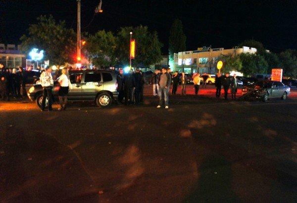 В Николаеве «BMW» протаранила милицейскую «Ниву» (ФОТО), фото-5