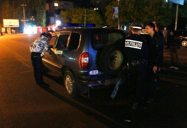 В Николаеве «BMW» протаранила милицейскую «Ниву» (ФОТО), фото-9