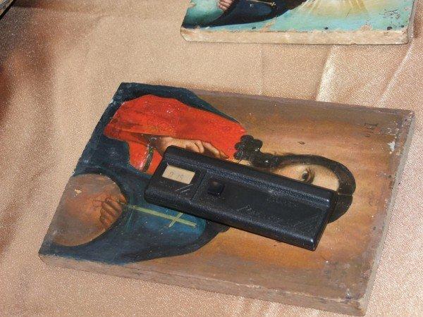 В Донецкий художественный музей сотрудники СБУ передали 10 конфискованных на таможне икон (фото), фото-4