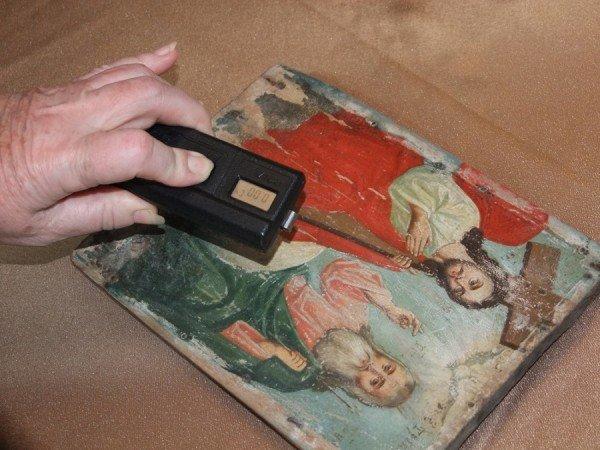 В Донецкий художественный музей сотрудники СБУ передали 10 конфискованных на таможне икон (фото), фото-5