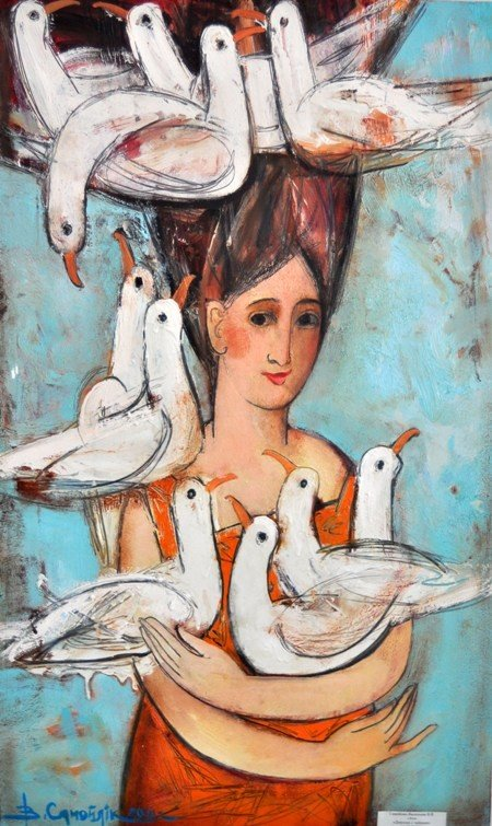 В Симферополе выставили 185 произведений крымских художников (фото), фото-2