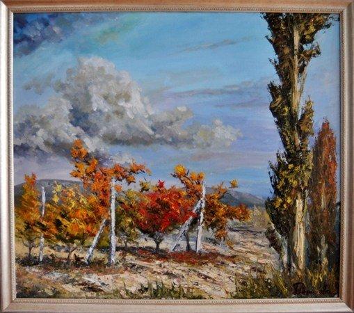 В Симферополе выставили 185 произведений крымских художников (фото), фото-11