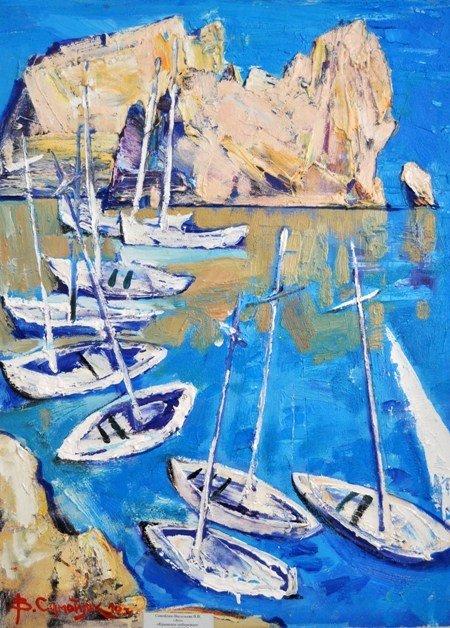 В Симферополе выставили 185 произведений крымских художников (фото), фото-3