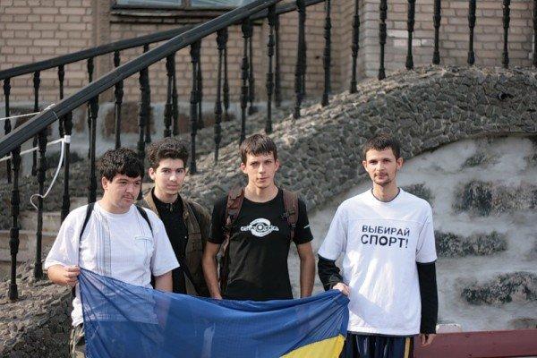 Молодежь Артемовска устроила пробежку за здоровый образ жизни, фото-2