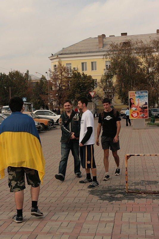 Молодежь Артемовска устроила пробежку за здоровый образ жизни, фото-3