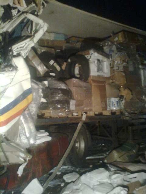 На Николаевщине лоб в лоб столкнулись два грузовика. Есть пострадавшие (ФОТО), фото-2